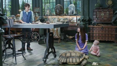 觀賞可怕的爬蟲屋(一)。第 1 季第 3 集。